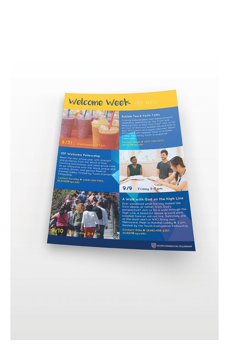 evangelism flyer