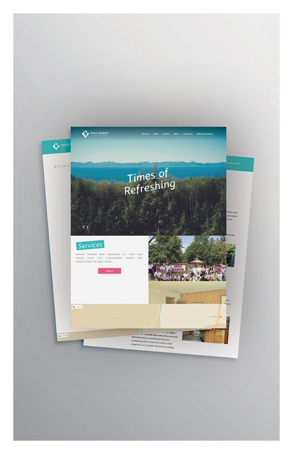 Grace Manor Website Design